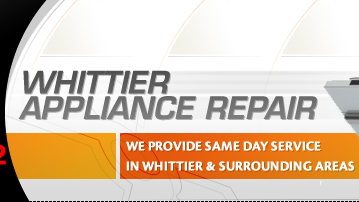 whittier appliance repair