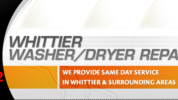whittier washer repair