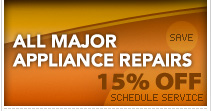 15% off appliance repair